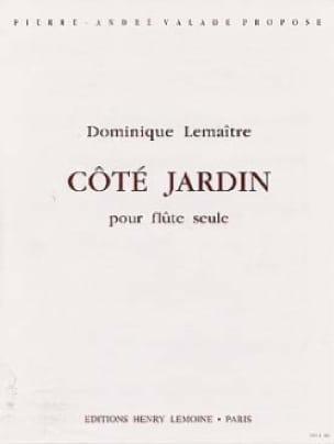 Côté jardin - Dominique Lemaitre - Partition - laflutedepan.com