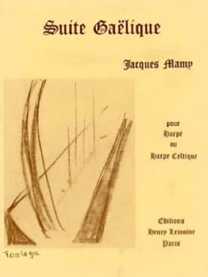 Suite gaëlique - Jacques Mamy - Partition - Harpe - laflutedepan.com