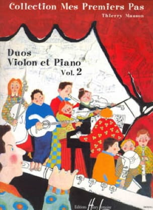 Thierry Masson - My first steps, Volume 2 - Violin - Partition - di-arezzo.com