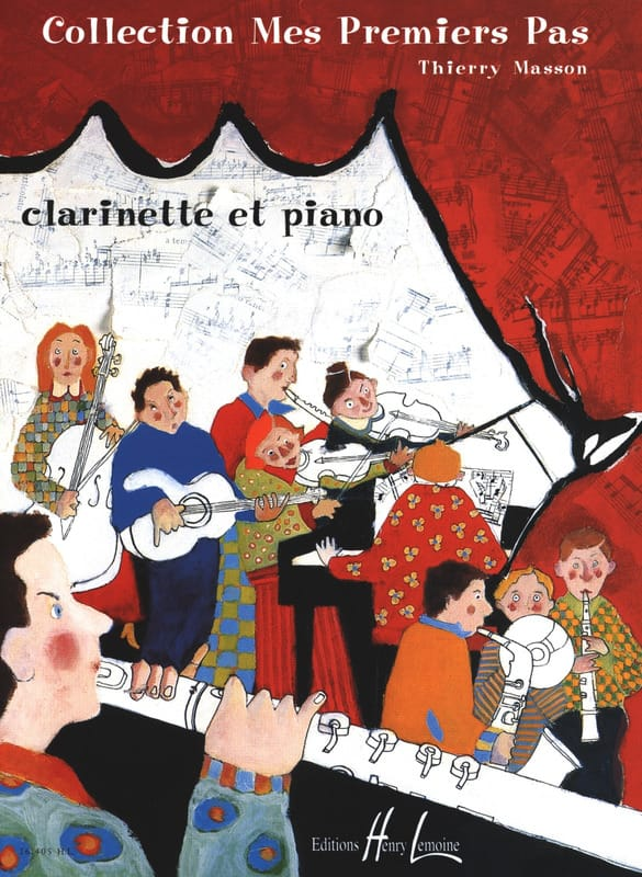 Mes premiers pas - Clarinette - Thierry Masson - laflutedepan.com