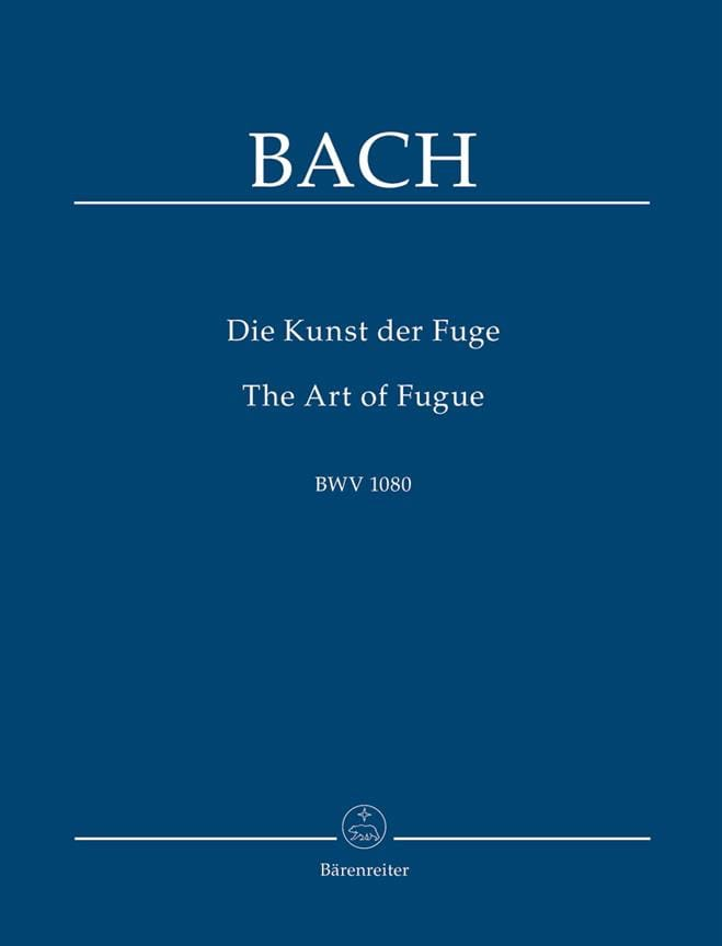 BACH - Die Kunst Der Fuge, BWV 1080 - Conductor - Partition - di-arezzo.es