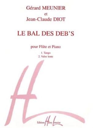 Bal des déb's - Meunier Gérard / Diot Jean-Claude - laflutedepan.com