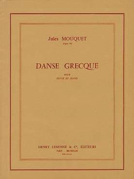 Jules Mouquet - Danza griega op. 14 - Partition - di-arezzo.es