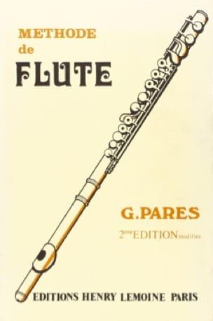 Méthode élémentaire - Flûte - G. Pares - Partition - laflutedepan.com