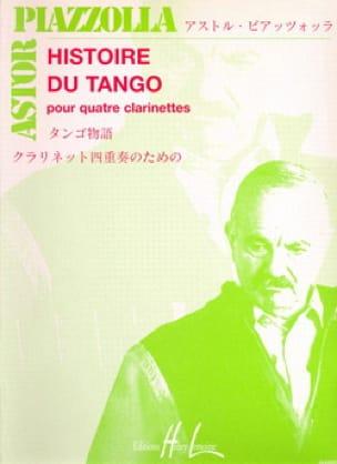 Astor Piazzolla - Tango-Geschichte - 4 Klarinetten - Partition - di-arezzo.de