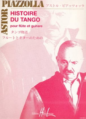 Astor Piazzolla - History of Tango - Flute - Partition - di-arezzo.co.uk