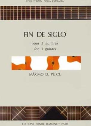 Fin de siglo - Maximo Diego Pujol - Partition - laflutedepan.com