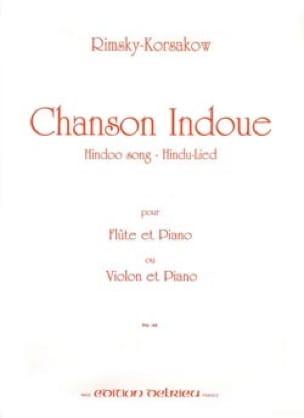Nicolaï Rimsky-Korsakov - Hindu Song - Flute or Violin - Partition - di-arezzo.com