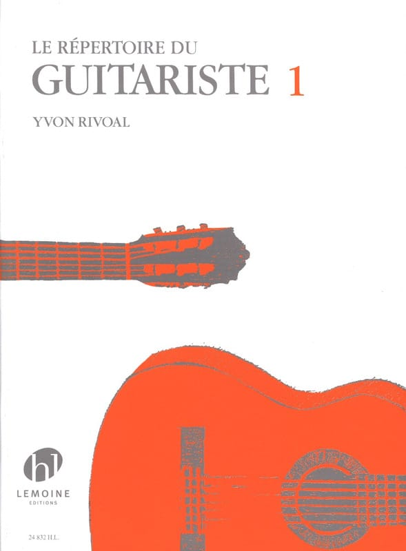 Yvon Rivoal - Guitarist's Directory Volume 1 - Partition - di-arezzo.co.uk