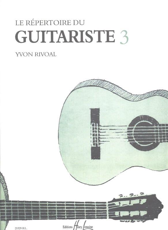 Yvon Rivoal - Guitarist's Directory - Volume 3 - Partition - di-arezzo.co.uk