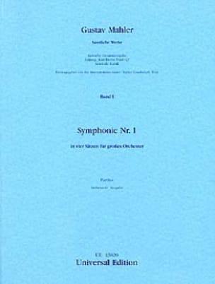 Gustav Mahler - Symphony Nr. 1 D-Dur - Partitur - Partition - di-arezzo.co.uk