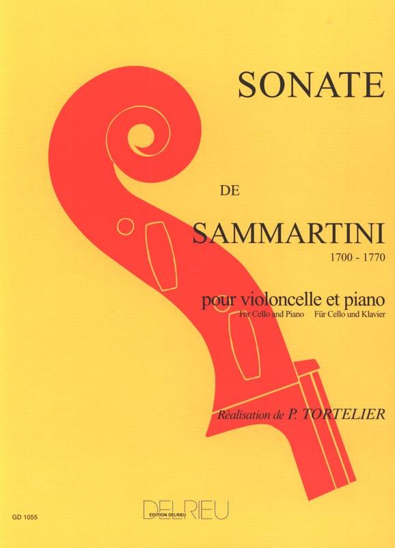 Sonate en sol majeur - SAMMARTINI - Partition - laflutedepan.com