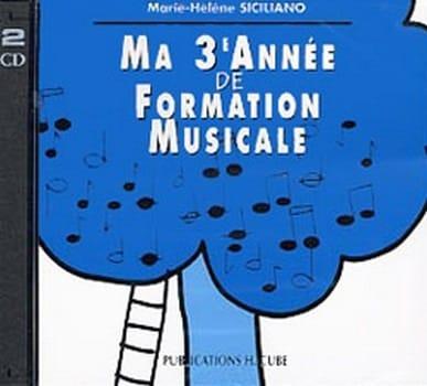 CD / Ma 3ème année de formation musicale - laflutedepan.com