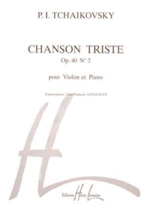 TCHAIKOVSKY - Chanson triste op. 40 n° 2 - Partition - di-arezzo.fr