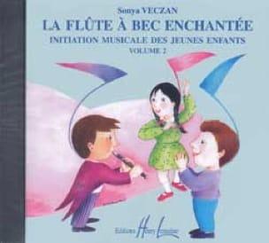 CD - Flûte A Bec Enchantée Volume 2 - Sonya Veczan - laflutedepan.com