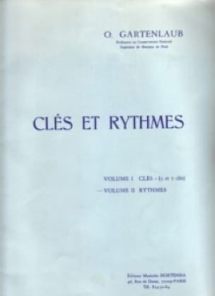 Odette Gartenlaub - Keys and Rhythms - Volume 2: Rhythm - Partition - di-arezzo.co.uk