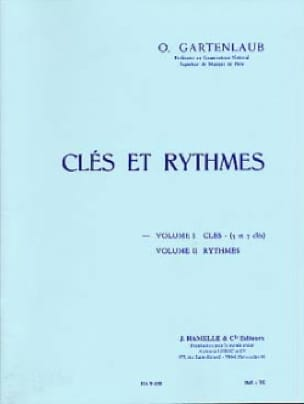 Odette Gartenlaub - Keys and rhythms - Volume 1: Keys 5 and 7 keys - Partition - di-arezzo.co.uk