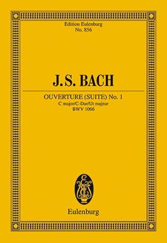 Ouverture Suite N° 1 en Do Majeur Bwv 1066 - BACH - laflutedepan.com