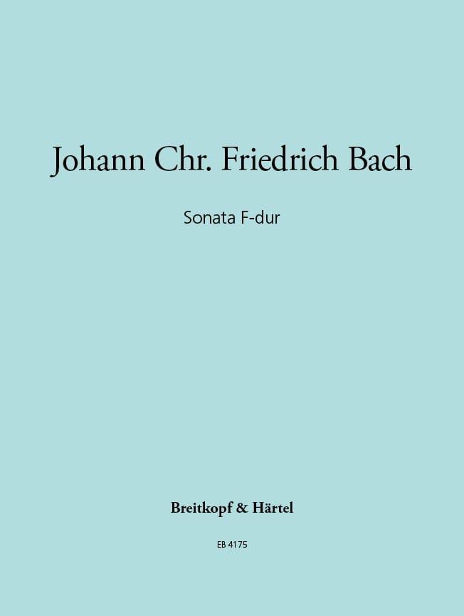 Sonata F-Dur - Flöte Violine u. Cembalo Klavier - laflutedepan.com