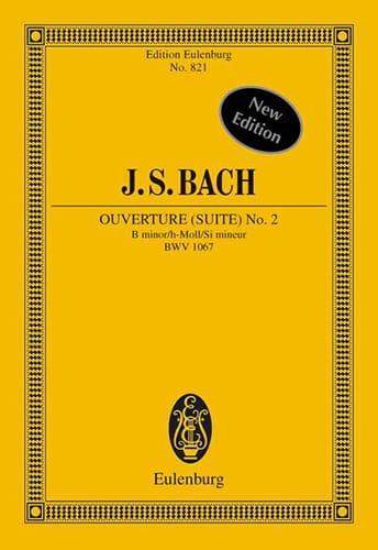 BACH - Suite Nr. 2 h-moll - Partition - di-arezzo.com