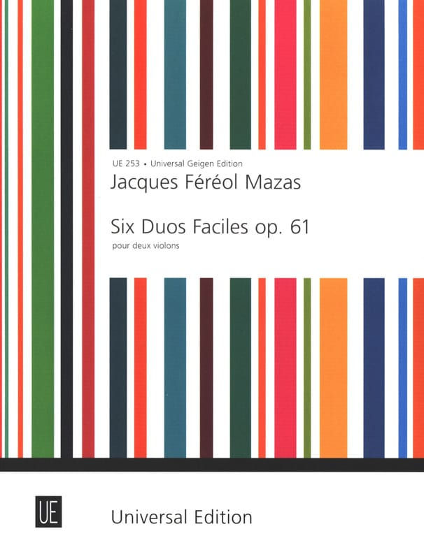 MAZAS - 6 Easy Duets op. 61 - Partition - di-arezzo.co.uk
