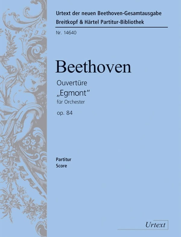 BEETHOVEN - Opening Egmont op. 84 - Partitur - Partition - di-arezzo.com