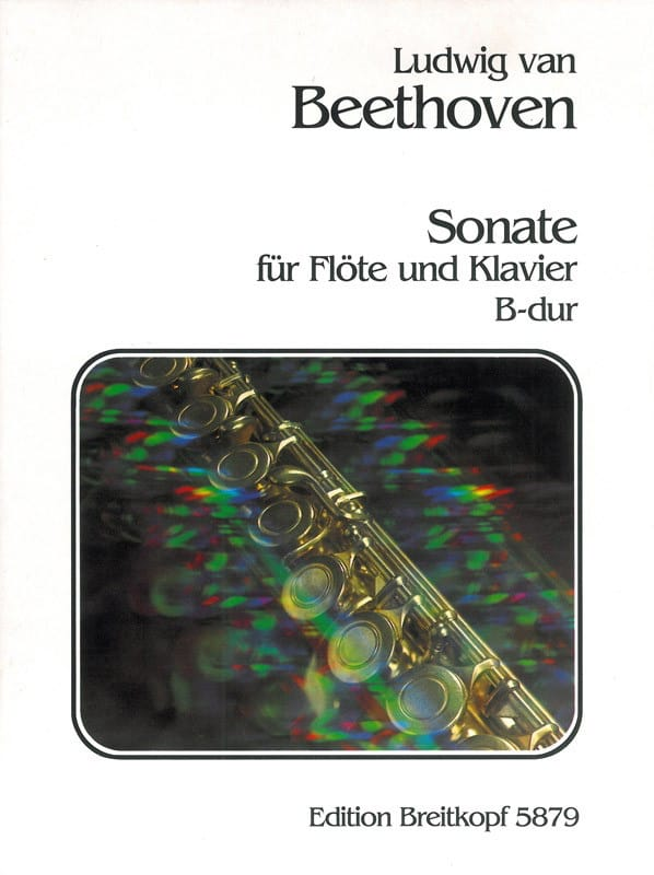 BEETHOVEN - Sonata B-Dur - Flöte Klavier - Partition - di-arezzo.co.uk