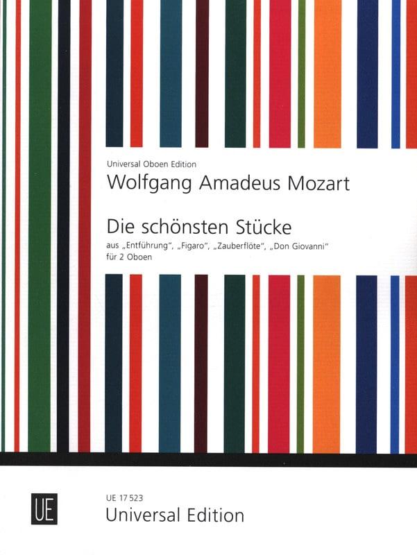 MOZART - Die schönsten Stücke - 2 Oboen - Partition - di-arezzo.com
