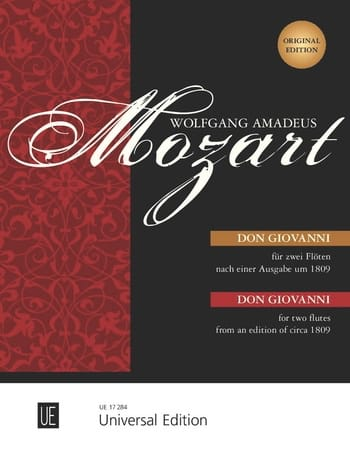 MOZART - Don Giovanni - 2 Flöten o. Violinen - Partition - di-arezzo.co.uk