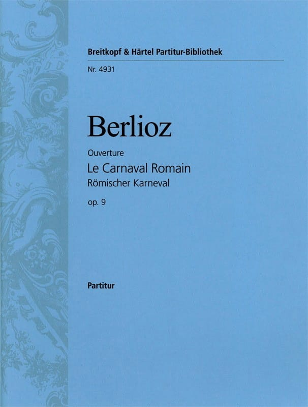 BERLIOZ - The Roman Carnival Opening - Driver - Partition - di-arezzo.co.uk