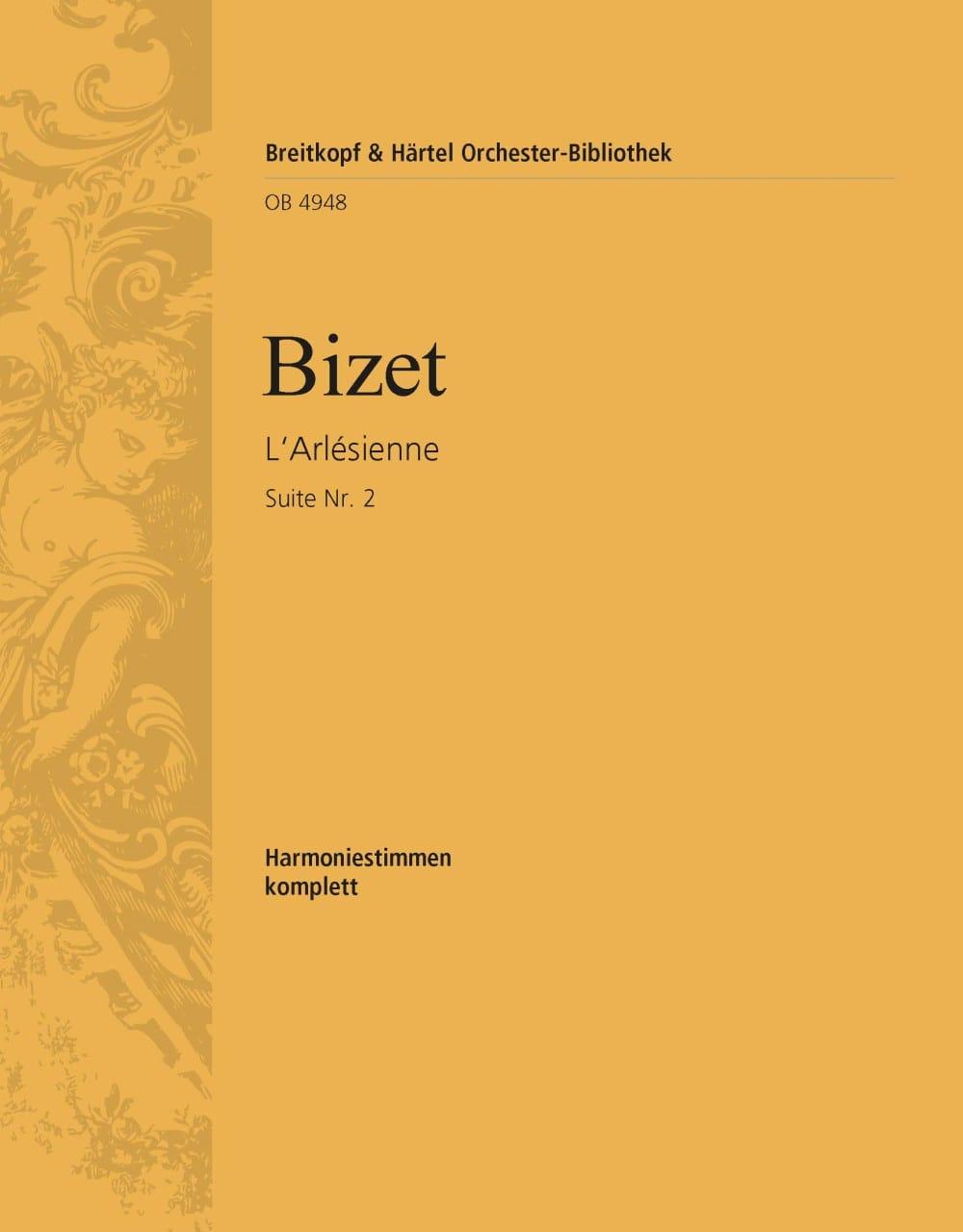 L'Arlesienne-Suite, Nr. 2 - BIZET - Partition - laflutedepan.com