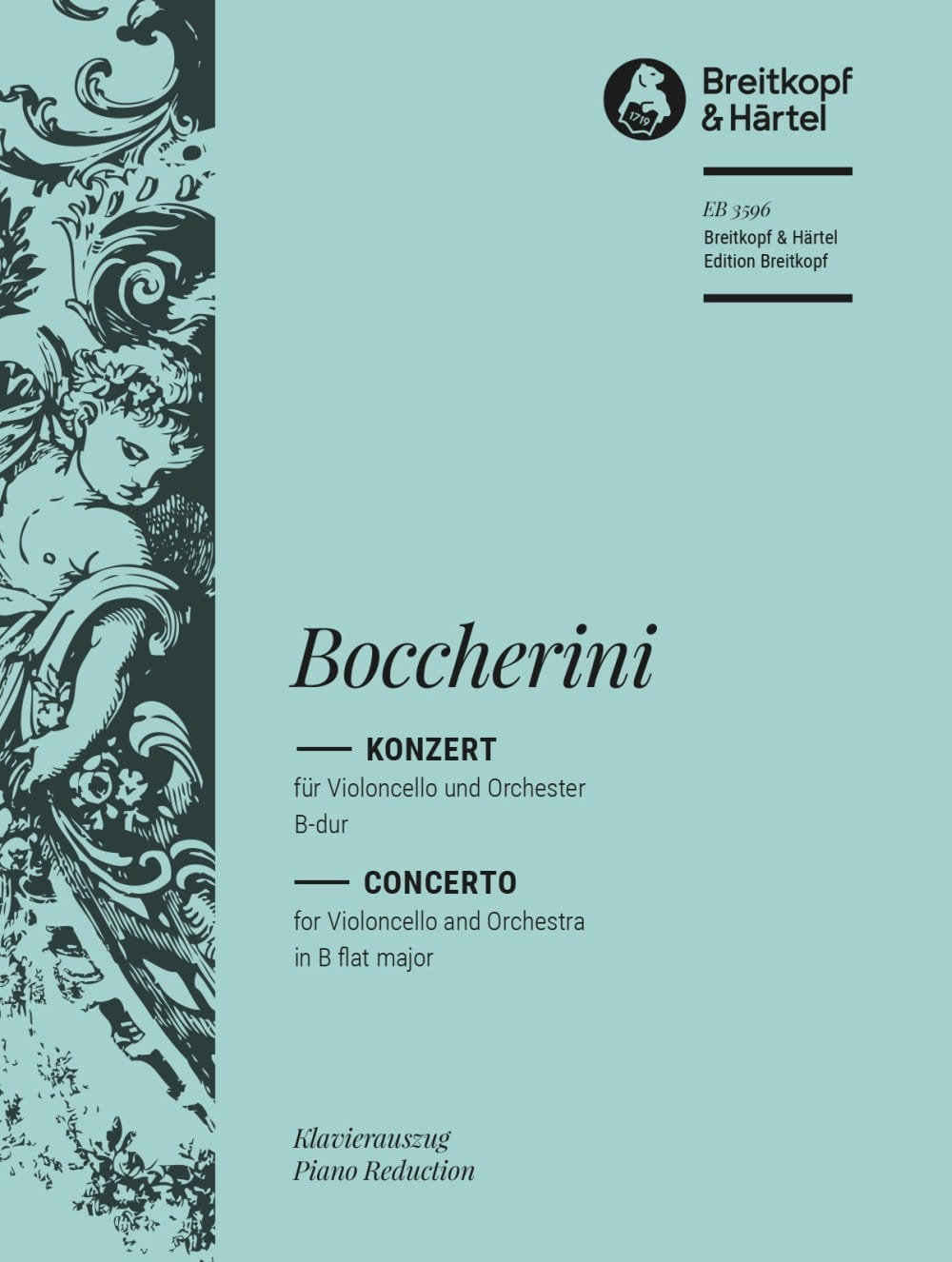 BOCCHERINI - Concerto for Cello - Cello and Piano - Partition - di-arezzo.co.uk
