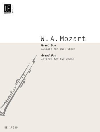 MOZART - Grand Duo - 2 Oboen - Partition - di-arezzo.com
