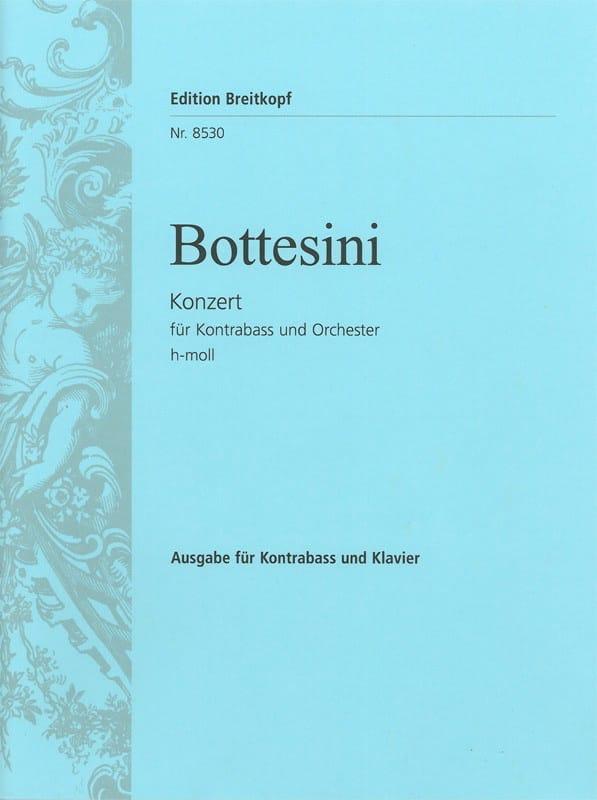 Giovanni Bottesini - Concerto in B minor - Double bass - Partition - di-arezzo.co.uk