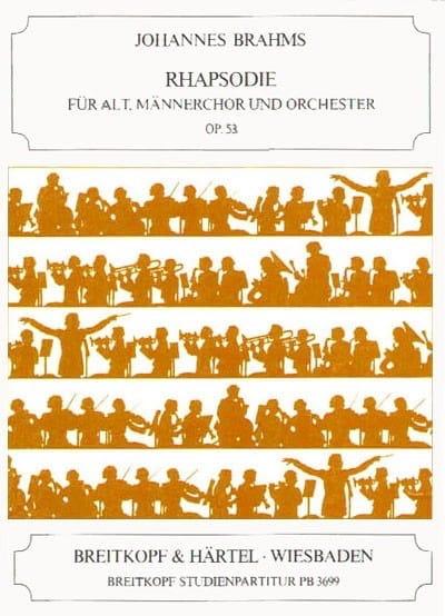 Rhapsodie Opus 53 - BRAHMS - Partition - laflutedepan.com