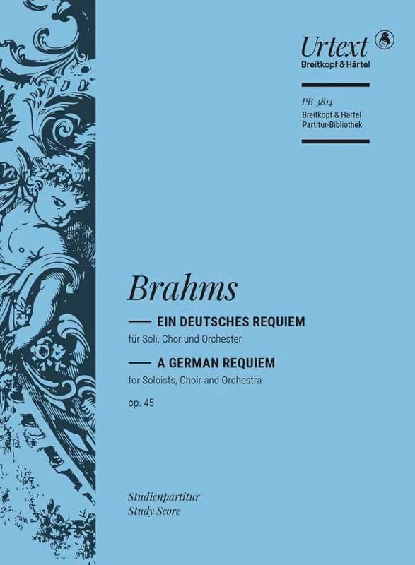 Ein deutsches Requiem op. 45 - BRAHMS - Partition - laflutedepan.com