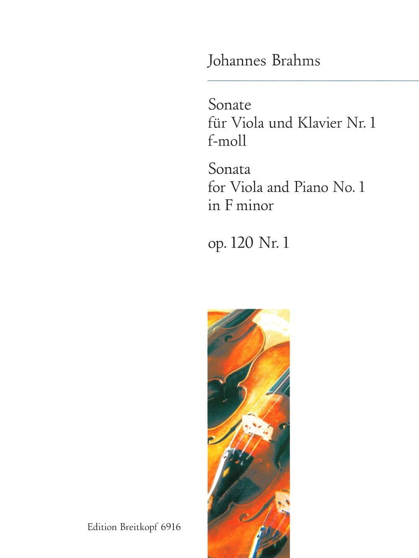 BRAHMS - Sonate n° 1 f-moll, op. 120 n° 1 - Partition - di-arezzo.fr