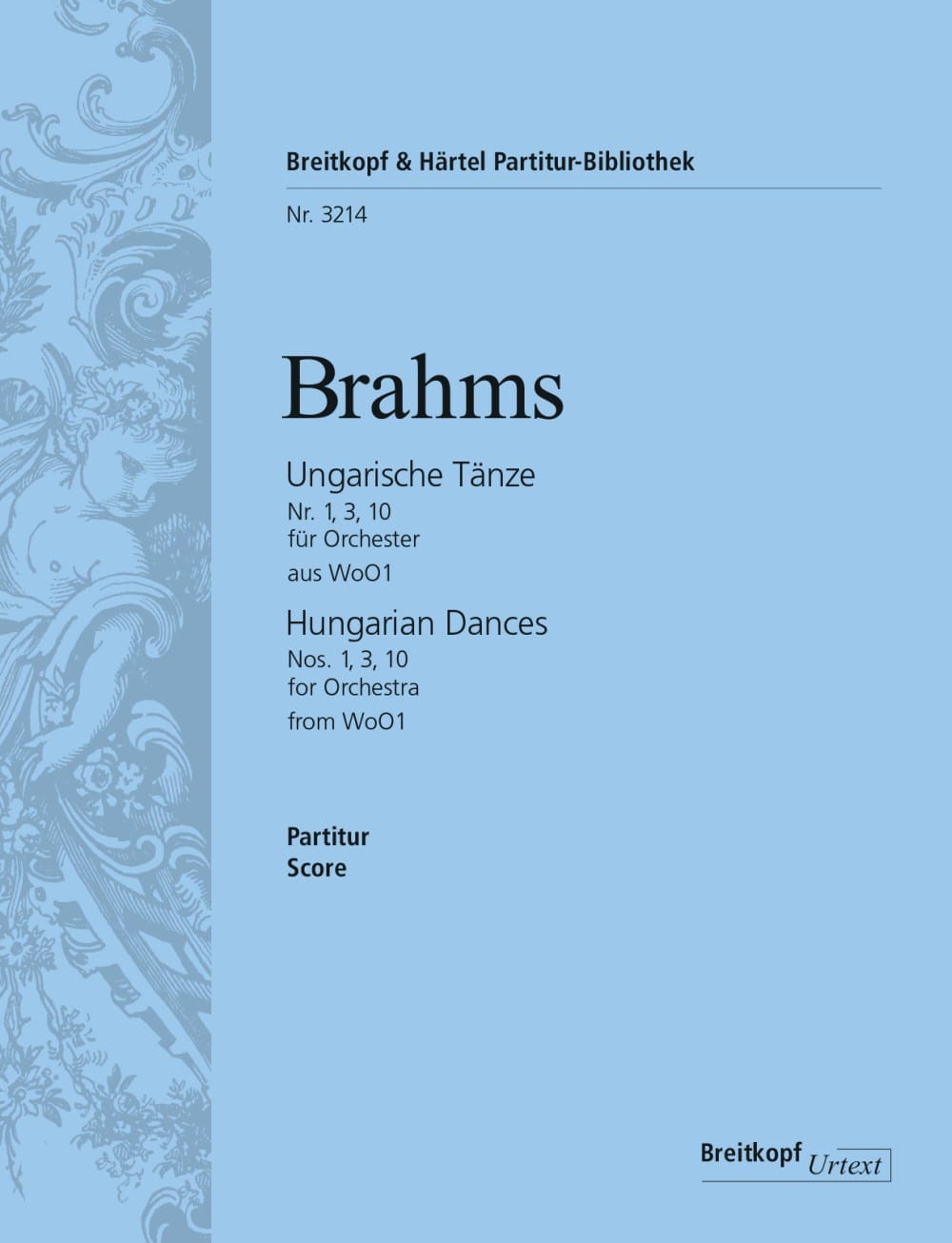BRAHMS - Ungarische Tänze, Nr. 1, 3, 10 - Orchester - Partition - di-arezzo.co.uk