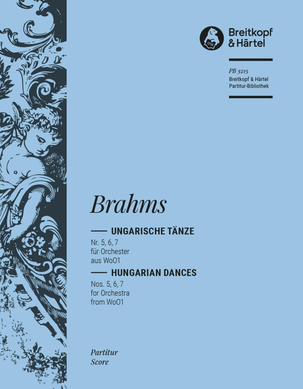 BRAHMS - Ungarische Tänze, Nr. 5, 6, 7 - Orchester - Partition - di-arezzo.co.uk
