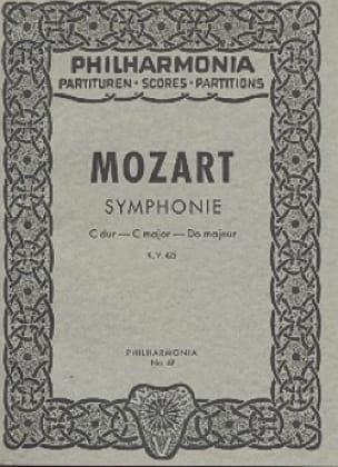 Symphonie Nr. 36 C-Dur KV 425 Linzer - Partitur - laflutedepan.com