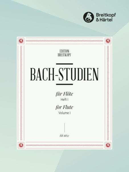 BACH - Bach-Studien für Flöte - Heft 1 - Partition - di-arezzo.co.uk