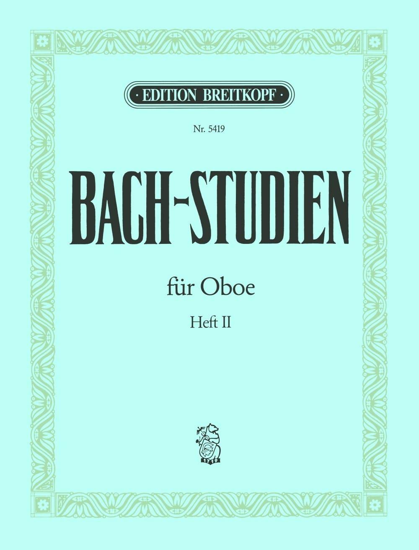 BACH - Bach-Studien for Oboe - Heft 2 - Partition - di-arezzo.com