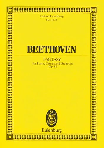 BEETHOVEN - Chorfantasie c-moll - Partition - di-arezzo.co.uk