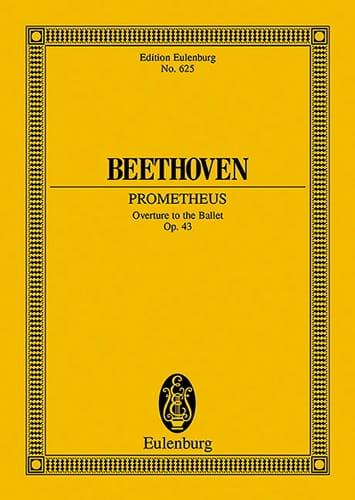 Die Geschöpfe des Prometheus, op. 43 - BEETHOVEN - laflutedepan.com