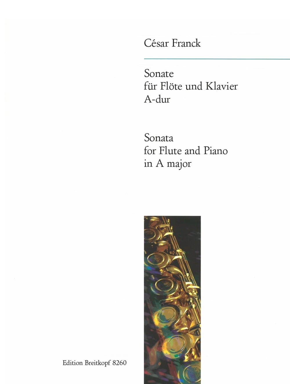 César Franck - A-Dur Sonata - piano flute - Partition - di-arezzo.co.uk