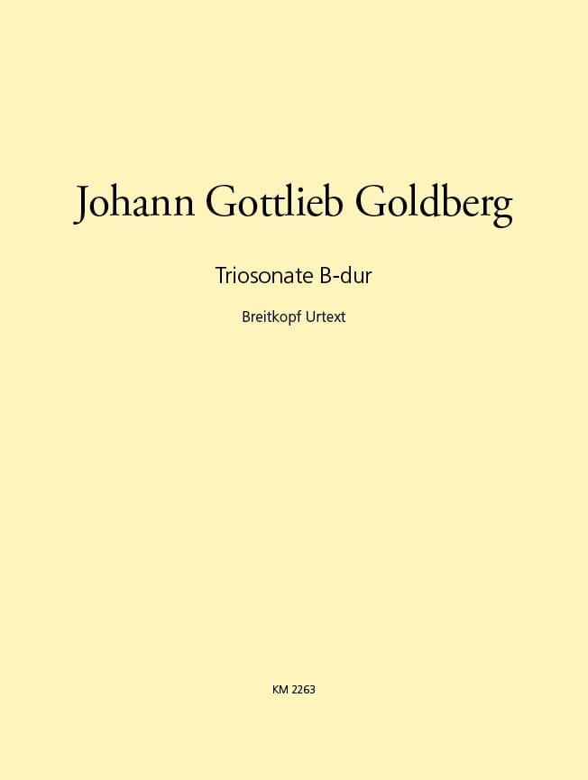 Triosonate B-dur -2 Violinen u. Bc - laflutedepan.com