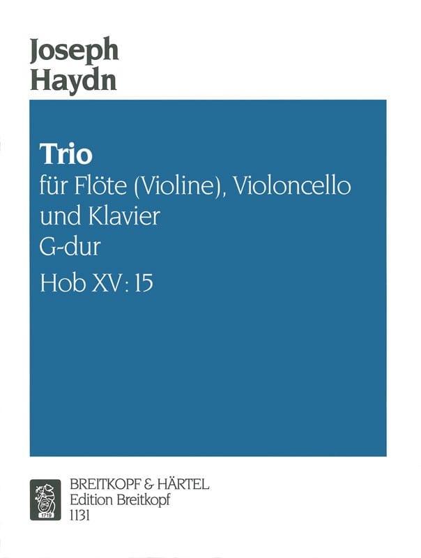 Trio G-Dur Hob. 15 n° 15 -Flöte Violine, Violoncello u. Klavier - laflutedepan.com