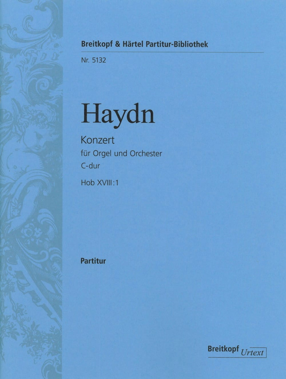 Orgel-Konzert C-Dur Hob 18: 1 - Partitur - HAYDN - laflutedepan.com