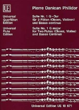 Suite Nr. 1 G-Dur - 2 Flöten Oboen, Violinen u. BC - laflutedepan.com