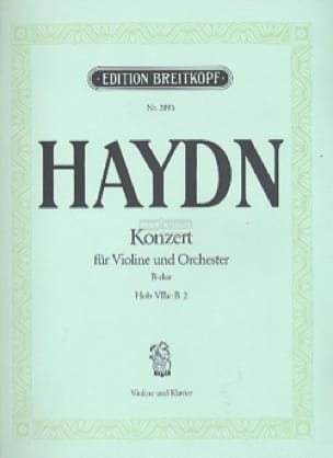 Violinkonzert B-Dur Hob. 7a : B 2 - HAYDN - laflutedepan.com